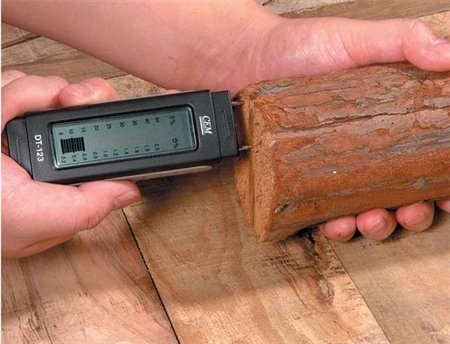 CEM Moisture meter for wood and building material
