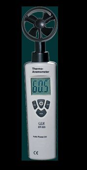 CEM Mini Thermo-Anemometer