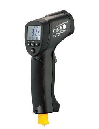 CEM Infra-red thermometer; LCD; -50....+1050 °C
