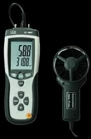 CEM Differential Pressure Manometer & Flow Meter