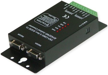 Trycom Dual port RS 232 to RS 422 RS 485 Isolated