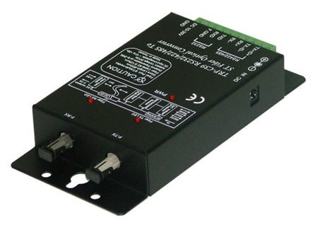 Trycom Fiber to RS 232 RS 422 RS 485 Isolated Convertor