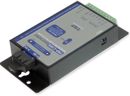 Trycom Fiber to RS 232 RS 422 RS485 Isolated Converter