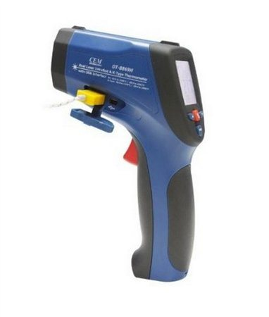 CEM Infra-red thermometer; LCD; -50...+2200°C