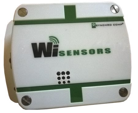 Synchro Comp Wi-Sensor with T, RH and CO2 Internal Probes