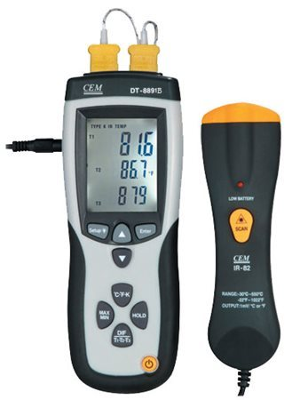 CEM Thermocouple Thermometer