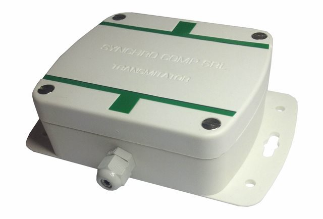 SYNCHRO SRL Temperature Transmitter with RS-485 Connector and External + Internal Sensor