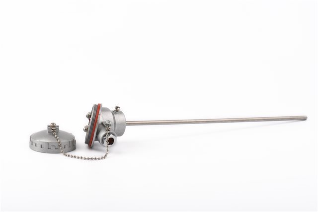 SYNCHRO SRL J-Type Thermocouple with Terminal Block and 4-20 mA transmitter, 6 mm diameter and stem length of 150 mm