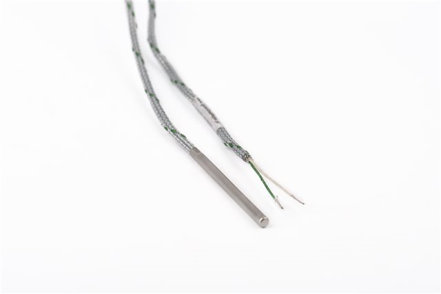 SYNCHRO SRL Simple J-type Thermocouple with 6 mm Stem Diameter, 150 mm Stem Length, and 2 m Cable