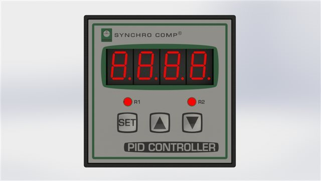 SYNCHRO SRL Temperature / Humidity Controller with 1 SSR, 1 Relay and 4-20 mA Analogic Output