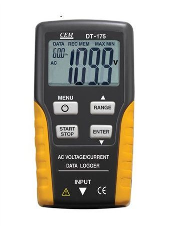 CEM Current and Voltage Datalogger