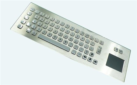 Altii Metal keyboard with touchpad