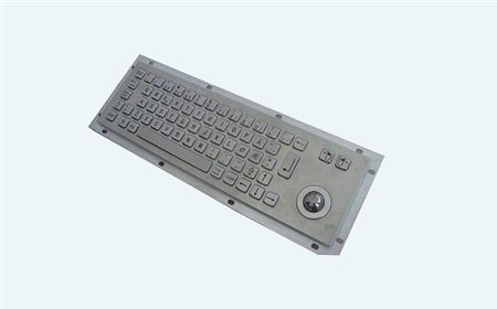 Altii Metal keyboard with trackball