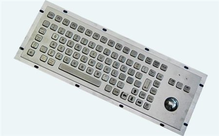 Altii Metal keybaord with trackball