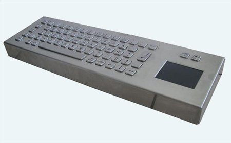 Altii Desktop keyboard with touchpad