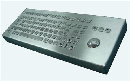 Altii Desktop keyboard with trackball